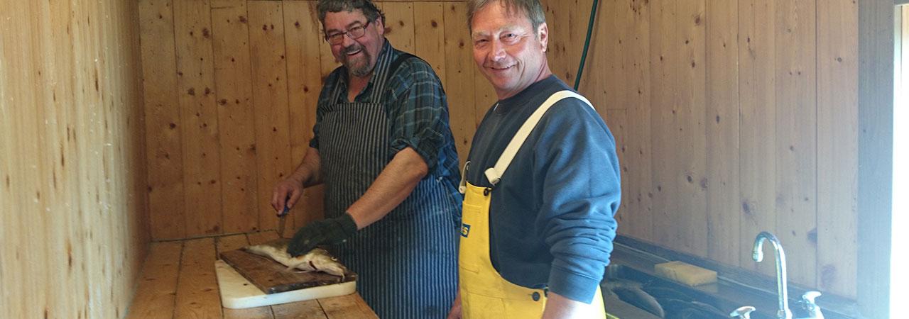 Tilrettelagt for fiske og fangstfolk